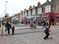 Francis Road in Leyton has been pedestrianised through the scheme